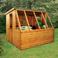 Dual Pent Potting Shed