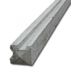 Concrete Slotted Corner Post 125 x 125mm sizes from 1500mm High