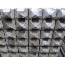 Concrete Slotted Semi Dry Intermediate Post 1800 - 2700mm High