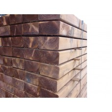 Eased Edge New Softwood Sleepers 2400 x 150 x 75mm