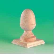 Acorn Finial with 100mm Base