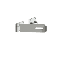 Heavy Hasp and Staple 180mm