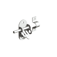 Gatemate Oval Padbolt 100mm