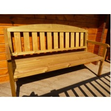Garden Furniture Three-Seater Bench