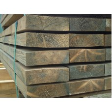 PSE Wooden Gravel Board 1800 x 140 x 45mm