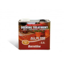 Barrettine Decking Treatment 2.5 litre