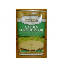 Barrettine Garden Furniture Oil Clear 1 litre