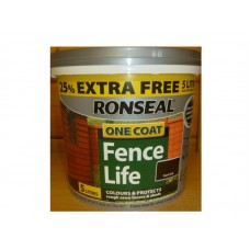 Ronseal One Coat Fence Life 5 litre