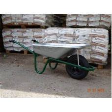 Wheelbarrow Galvanised