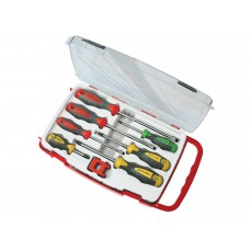 Faithfull 7 Piece Screwdriver Set with Magnetiser