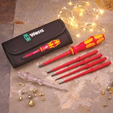 Wera VDE Interchangeable Blade Screwdriver Set