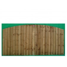 Closeboard Panel Convexed 900 - 1800mm High