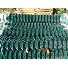 Chainlink Fencing Green PVC 1800mm High x 10m