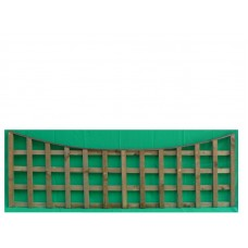 Square Trellis Panel Concaved sizes from 300mm