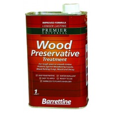 Barrettine Wood Preservative 1 litre